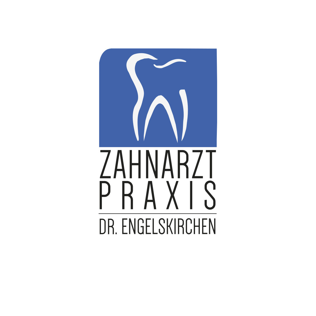 Dies ist das Logo der Zahnarztpraxis Dr. Christoph Engelskirchen in Troisdorf